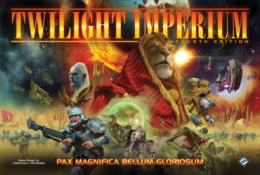 Сумерки империи. Четвертое издание (Twilight Imperium. Fourth edition)