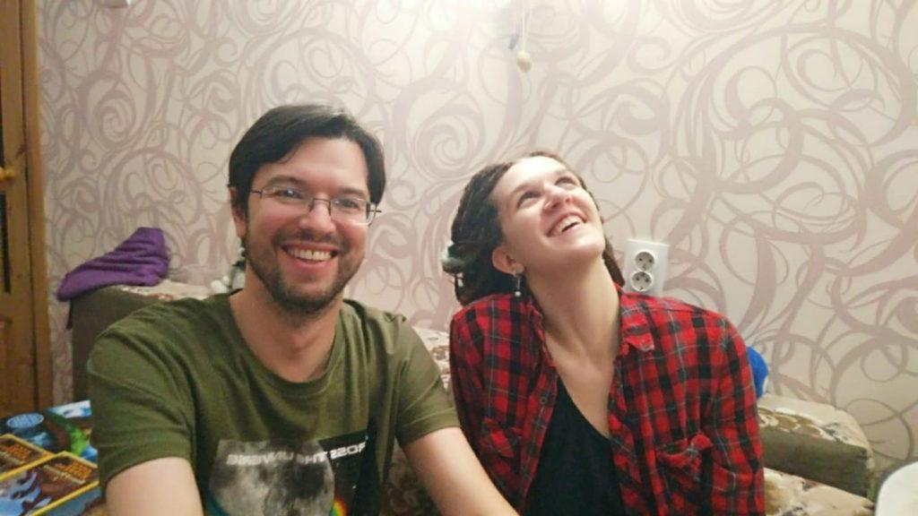 Александр Петрунин и Екатерина Шевчук