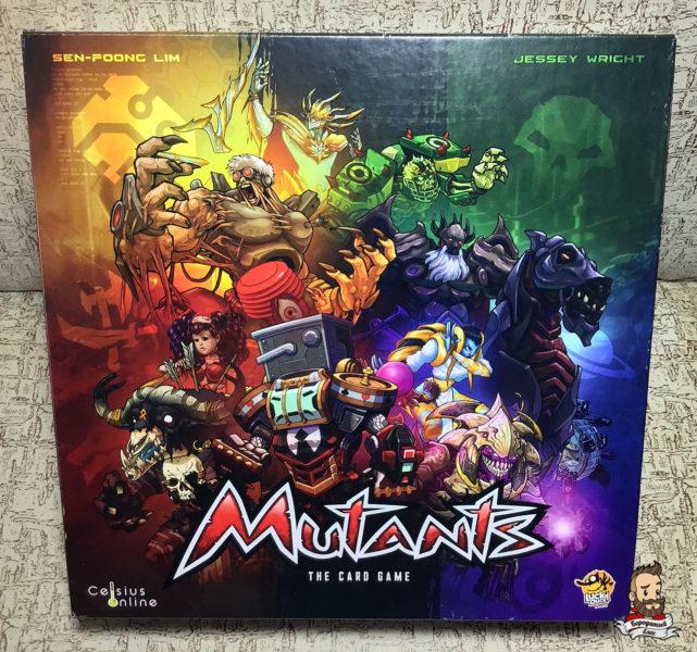 Коробка с игрой Mutants