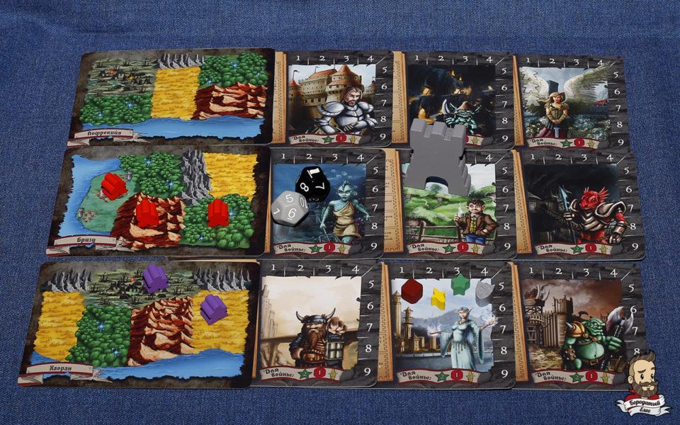 Компоненты игры Крошечные Эпические Королевства