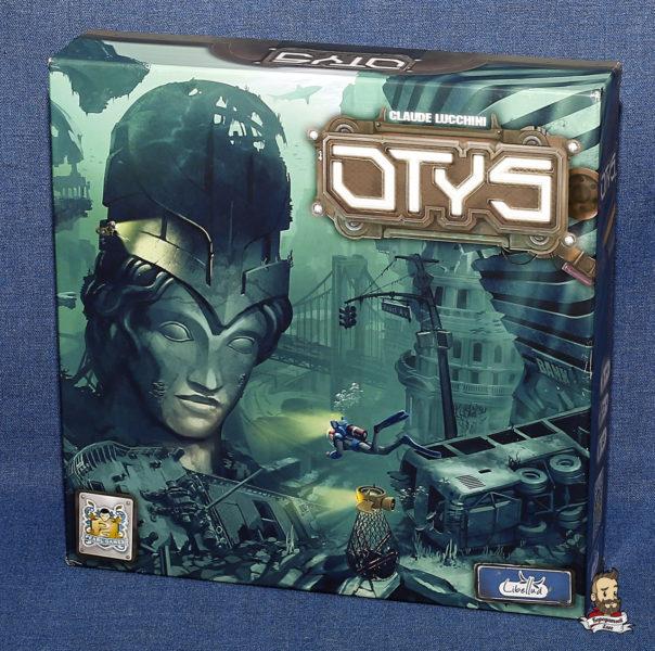 Коробка с игрой Otys