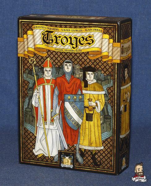 Коробка с игрой Труа (Troyes)